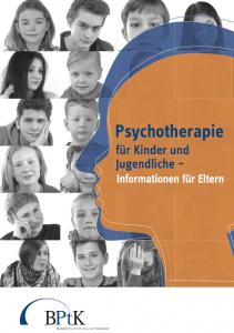 Download: Psychotherapie für Kinder und Jugendliche - Informationen für Eltern